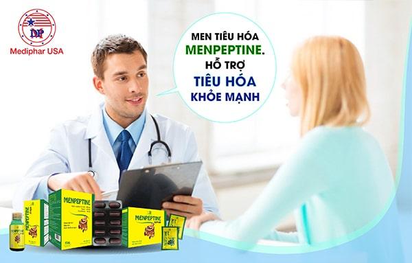 Menpeptine - Thực phẩm hỗ trợ tiêu hóa được chuyên gia khuyên dùng