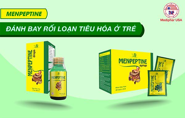 Menpeptine Drops - Giải pháp đánh bay rối loạn tiêu hóa ở trẻ em