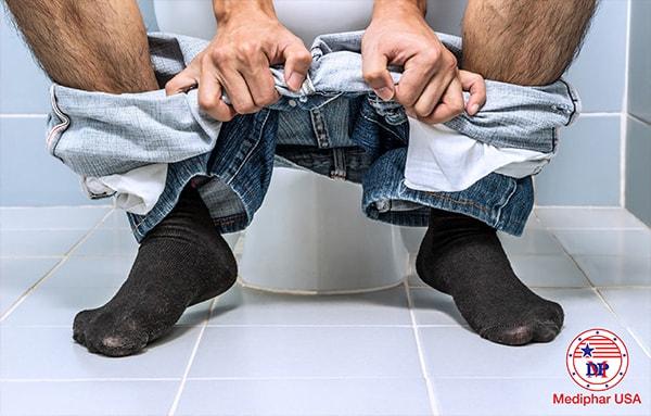 Rối loạn tiêu hóa gây nhiều bất thường về vấn đề đại tiện