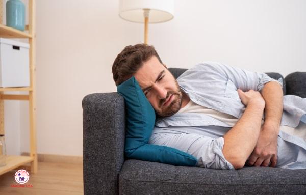 Đau bụng, buồn nôn gây nhiều nguy hại cho sức khỏe