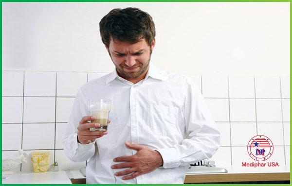 Ảnh minhĐầy bụng khó tiêu làm tăng nguy cơ về một số bệnh lý tại hệ tiêu hóa, đại tràng nếu không điều trị họa chứng đầy bụng khó tiêu
