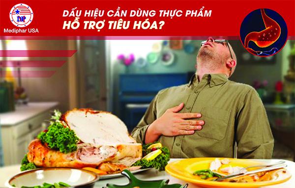 Nên dùng men tiêu hóa khi ăn uống khó tiêu, đầy hơi, chướng bụng