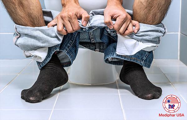 Tiêu chảy sau dùng bia rượu có thể là do rối loạn tiêu hóa