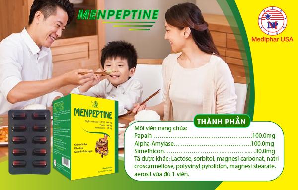 Thành phần Menpeptine dạng viên nang