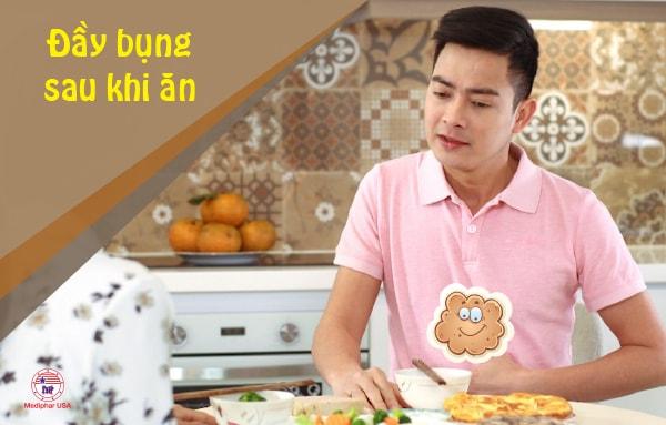 Đầy bụng sau khi ăn cần được xử lý sớm