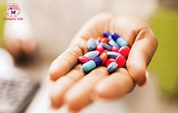 Rối loạn tiêu hóa sau khi uống thuốc kháng sinh