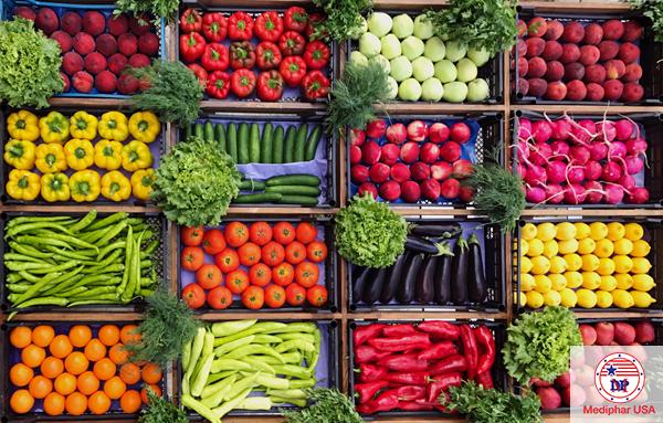Thực phẩm nhiều chất xơ rất tốt cho hệ tiêu hóa