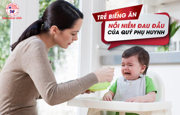 Rất nhiều phụ huynh stress vì con trẻ biếng ăn, còi cọc