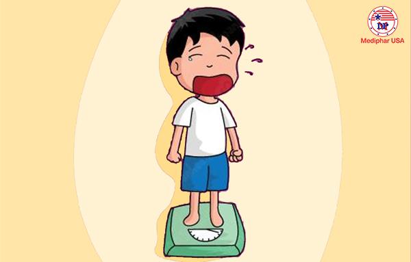 Dấu hiệu nhận biết trẻ biếng ăn suy dinh dưỡng