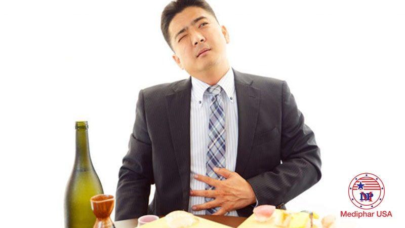 Truy tìm nguyên nhân đầy bụng ợ hơi sau bữa ăn