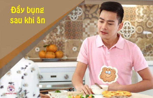 Đầy bụng sau khi ăn – Chuyện gì đang xảy ra trong bụng?