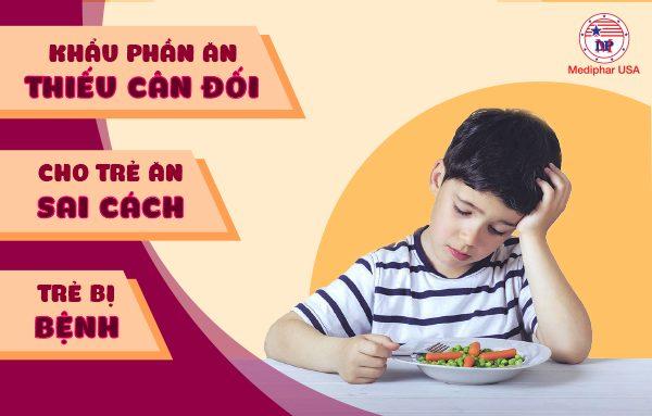Nguyên nhân trẻ biếng ăn khiến phụ huynh không ngờ nhất
